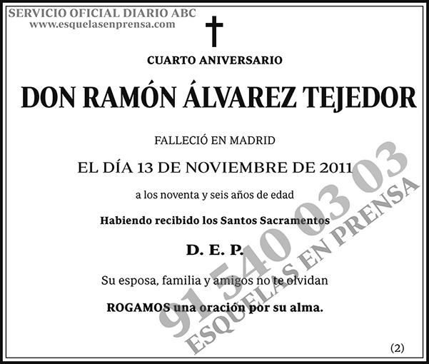 Ramón Álvarez Tejedor